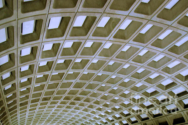 Arches - the ceiling of a Washington, DC Metro Station