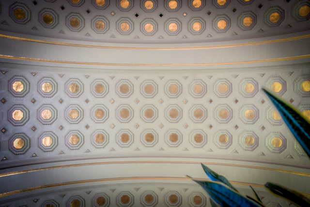 Union Station Ceiling of Gold