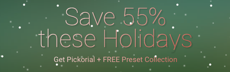 Picktorial Holiday Sale